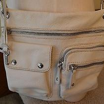 Fossil Off-White Leather Small Purse Crossbody Photo