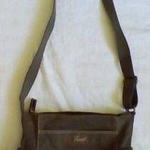 Fossil Olive Green Crossbody Bag Purse Photo