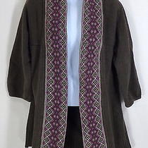 Fossil Open Cardigan Sweater - Women's Cotton  Blend - Size Large L Photo