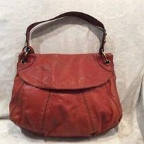 Fossil Orange Leather Handbag Photo