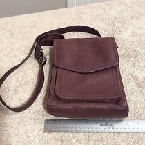 Fossil Organizer 1954 Brown Messenger Bag / Cross Body Bag 75082. Excel. Cond. Photo