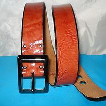 Fossil Original Genuine Leather Belt W/ Buckle Authentic Excellent  Photo