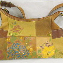 Fossil Painted Leather Purse Photo