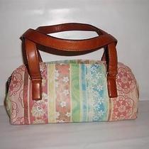 Fossil Painted Leather Shoulder Bag / Handbag Photo