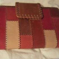 Fossil Patchwork Leather Wallet. Photo