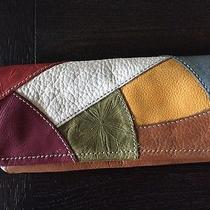 Fossil Patchwork Leather Wallet Photo