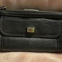 Fossil  Pebbled Leather Clutch Wallet in Color Blue Photo