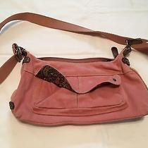 Fossil Pink Cloth Crossbody/shoulder Bag Photo