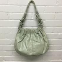 Fossil Pistachio Green Leather Handbag Purse Photo