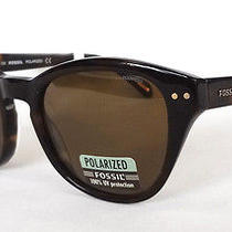 Fossil Polarized Women's Sunglasses Macie/s 086p Brown - New Photo
