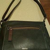 Fossil Purse Black Leather Medium Photo