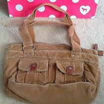 Fossil Purse Brown Corduroy Photo