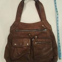 Fossil Purse Brown Leather Photo