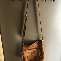 Fossil Purse - Camel Leather Crossbody Photo