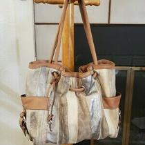Fossil Purse Distressed Leather 10x12