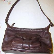 Fossil Purse Vintage 1954 New American Classic Coffee Color Shoulder Strap Photo