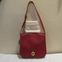 Fossil Red Austin Flap Shoulder Bag Purse  reg.198.00 W/dust Bag  Photo