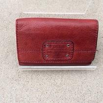 Fossil Red Bifold Wallet Photo