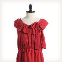 Fossil Red Dress Sz M a-Line Photo