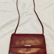 Fossil Red Leather Cross Body Purse Photo