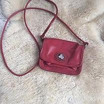Fossil Red Leather Crossbody Photo