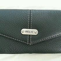 Fossil Relic Black Leather Wallet Photo
