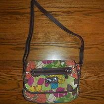 Fossil Relic Brand Floral Handbag Purse Rlh4038 Cute Look Photo