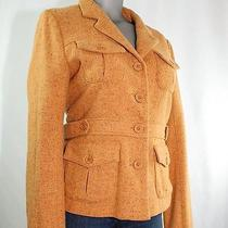 Fossil Retro Jacket Size Large Goldenrod Photo