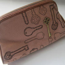 Fossil Salmon Penelope Cosmetic Bag  Photo