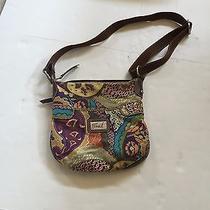 Fossil Shoulder Bag Hand Bag  Multi-Colored  Cloth  Medium Size Photo