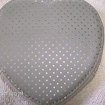 Fossil  Silver Heart Shaped Coin Purse Nwt 45 Photo