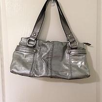 Fossil Silver Metalic Shoulder Bag Photo