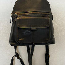 Fossil Small Black Backpack Bag Photo