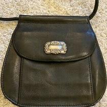Fossil - Small Black Leather Purse W/ 24 Inch Strap Photo