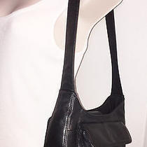 Fossil Small Black Pebbled Leather Shoulder Bag Photo