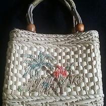 Fossil Small Raffia Dual Handle Bag Photo