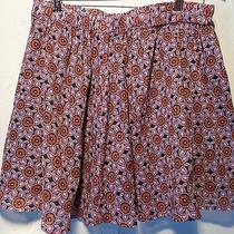 Fossil Small Skirt Purples Floral Photo