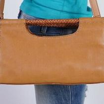 Fossil Small  Tan Leather  Shoulder Hobo Tote Satchel Purse Bag Photo