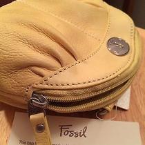 Fossil Small Yellow Handbag Retail Price 55 Photo
