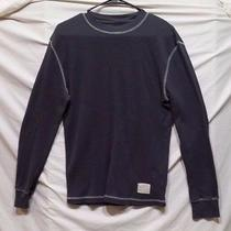 Fossil - Solid Gray - L/s Casual Shirt - Cotton - Great Condition - Mens Small Photo