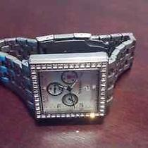 Fossil Stainless Steel Diamond Watch Photo