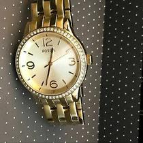Fossil Stainless Steel Watch in Goldtone Photo