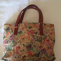 Fossil Stamp Print Tote Photo