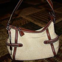 Fossil Straw Bag Beautiful Photo