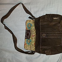 Fossil Suede Purse (Brown) Photo