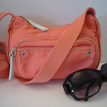 Fossil Summer Vacation Neon Orange Small Crossbody Bag Photo