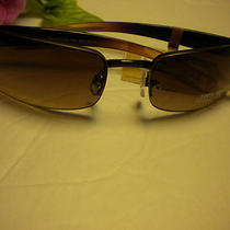 Fossil  Sun Glasses Ladonna Framesless/torteshell/rhinestones  Nwt Photo