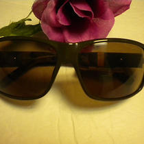 Fossil Sun Glasses Men's Phil in Olive Green/camo Arms Nwt Photo