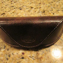 Fossil Sunglasses Glasses Case Magnetic Close Brown   Photo