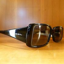 Fossil Sunglasses Ladies Glasses Ps7007001 Kimberley Black Rrp 4990  Photo